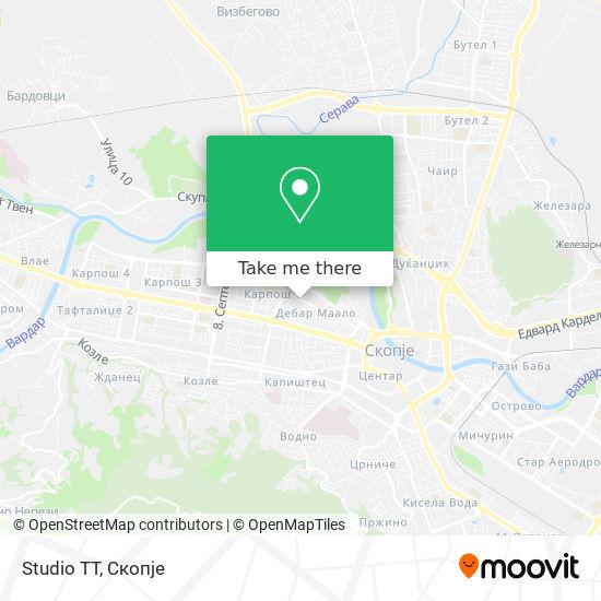 Studio TT map
