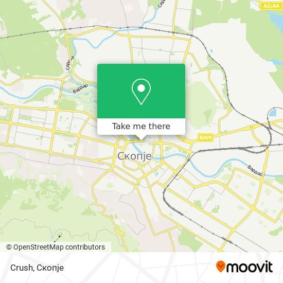 Crush map