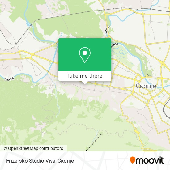 Frizersko Studio Viva map