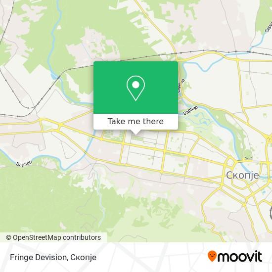 Fringe Devision map