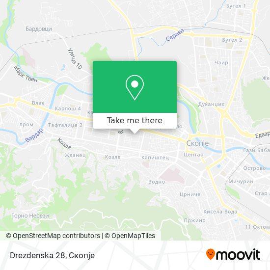 Drezdenska 28 map