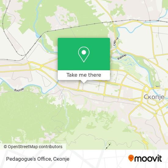 Pedagogue's Office map