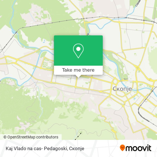 Kaj Vlado na cas- Pedagoski map