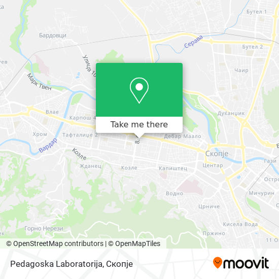 Pedagoska Laboratorija map
