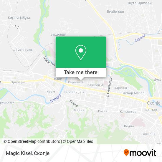 Magic Kisel map