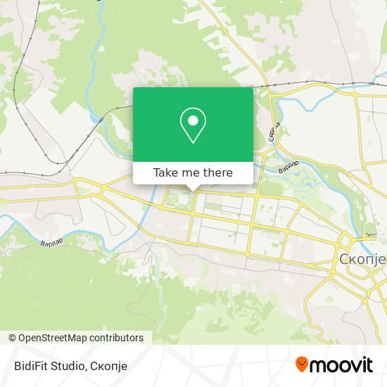 BidiFit Studio map