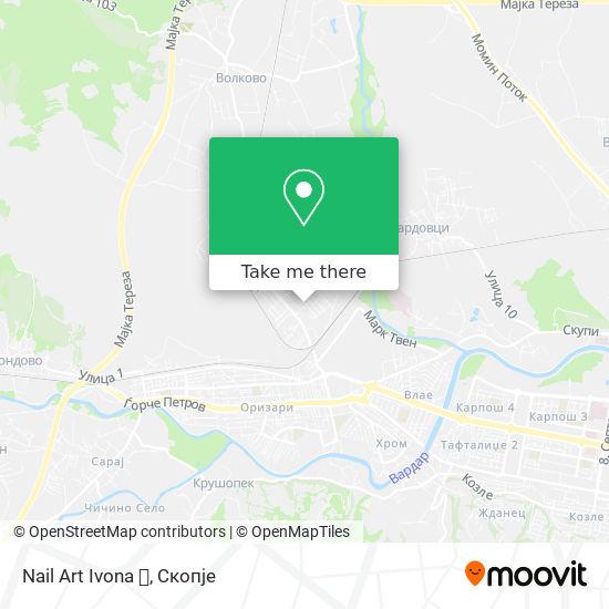 Nail Art Ivona 💅 map