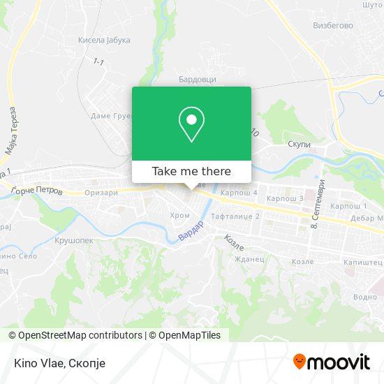 Kino Vlae map
