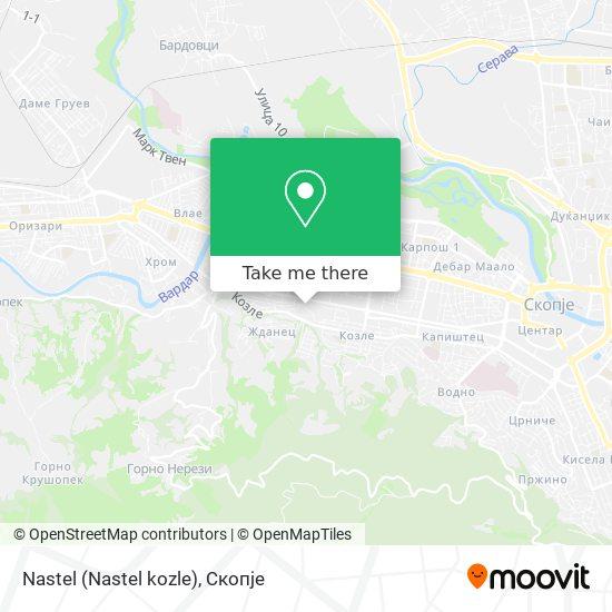 Nastel (Nastel kozle) map