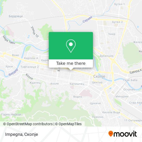 Impegna map