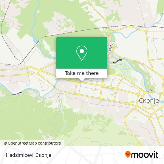 Hadzimicevi map