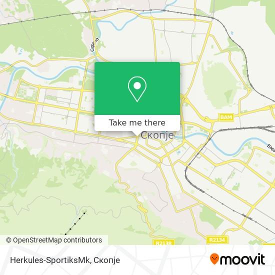 Herkules-SportiksMk map
