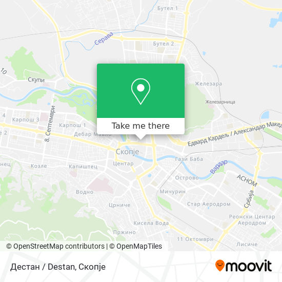 Дестан / Destan map