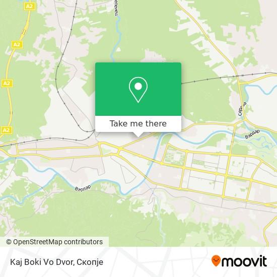 Kaj Boki Vo Dvor map