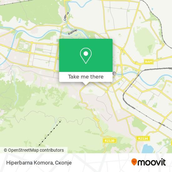 Hiperbarna Komora map