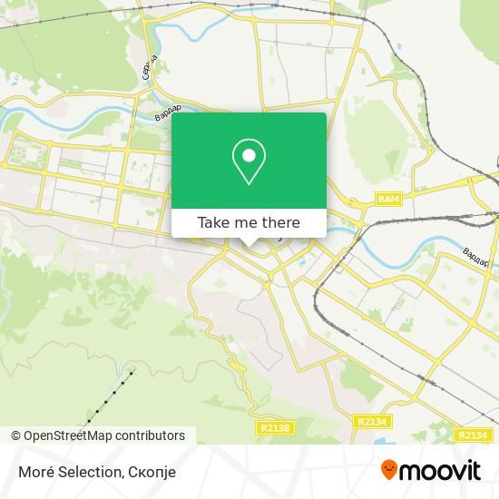 Moré Selection map