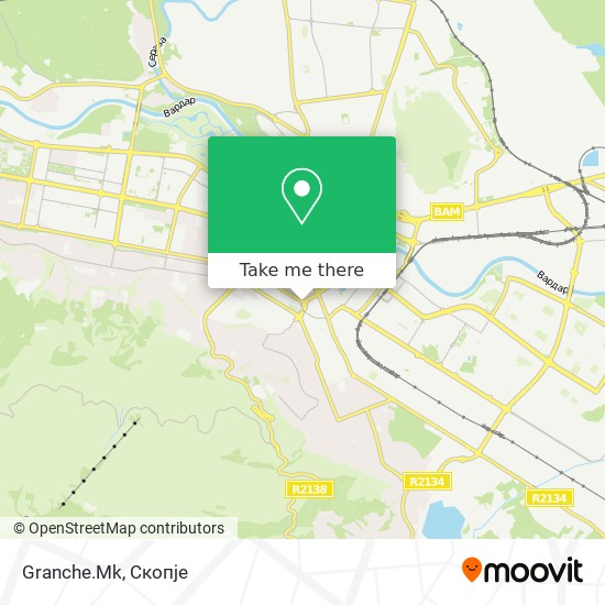Granche.Mk map