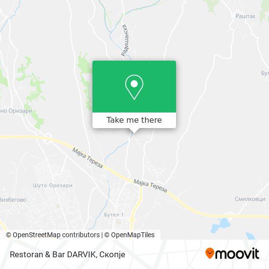 Restoran & Bar DARVIK map