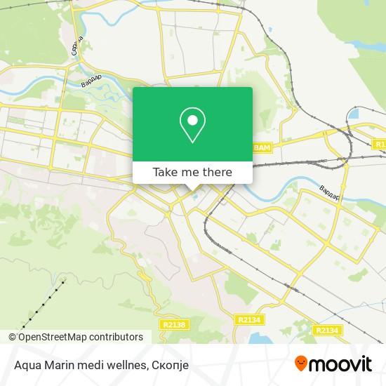 Aqua Marin medi wellnes map