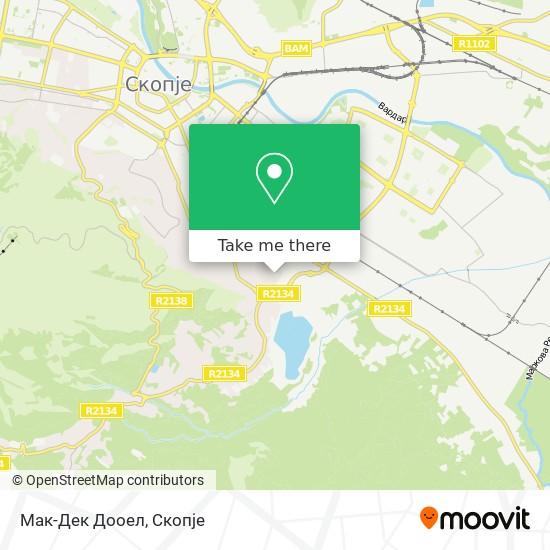 Мак-Дек Дооел map