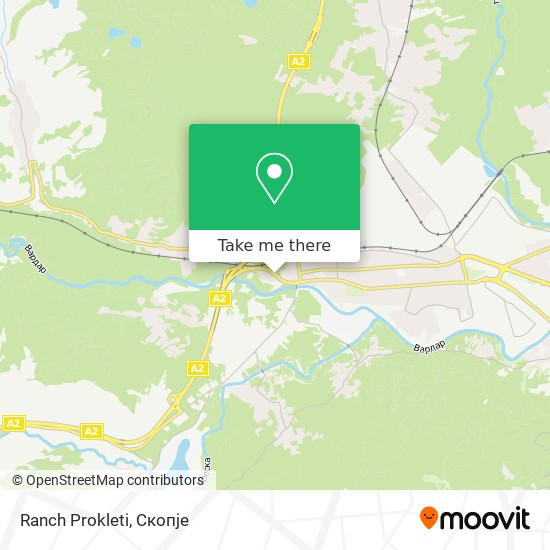 Ranch Prokleti map