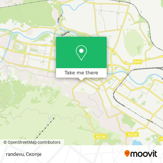 randevu map