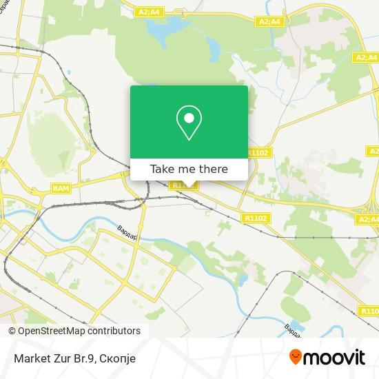 Market Zur Br.9 map