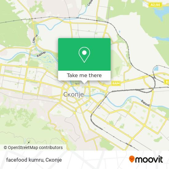 facefood kumru map