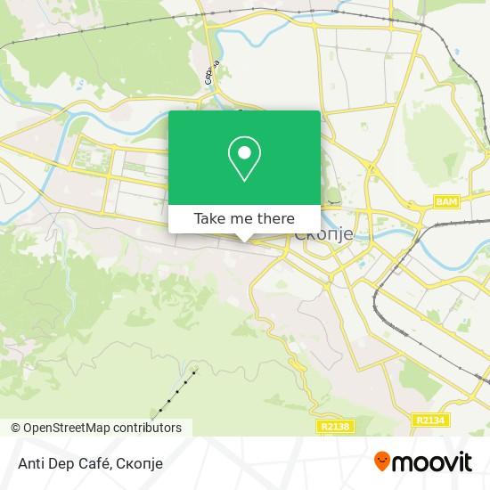 Anti Dep Café map