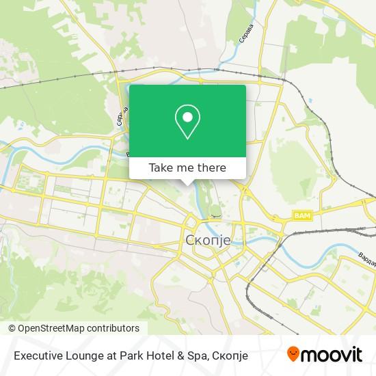 Executive Lounge at Park Hotel & Spa map