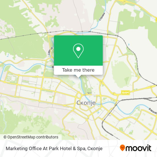 Marketing Office At Park Hotel & Spa map
