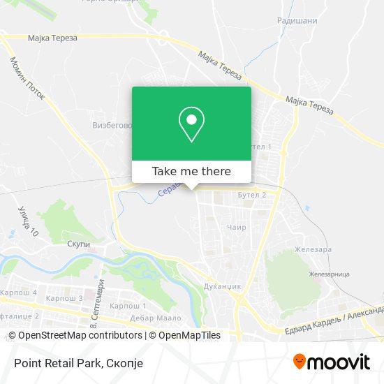 Point Retail Park map