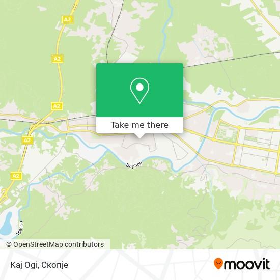 Kaj Ogi map