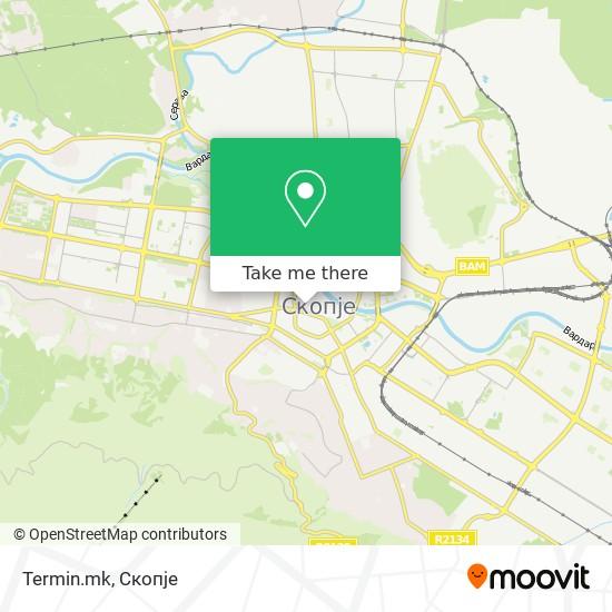 Termin.mk map