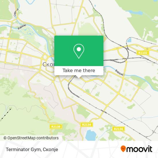 Terminator Gym map