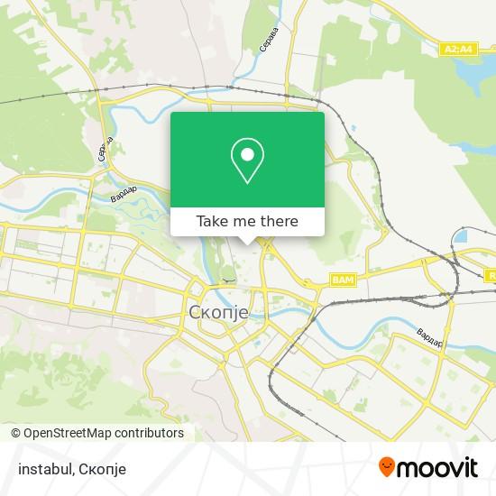 instabul map