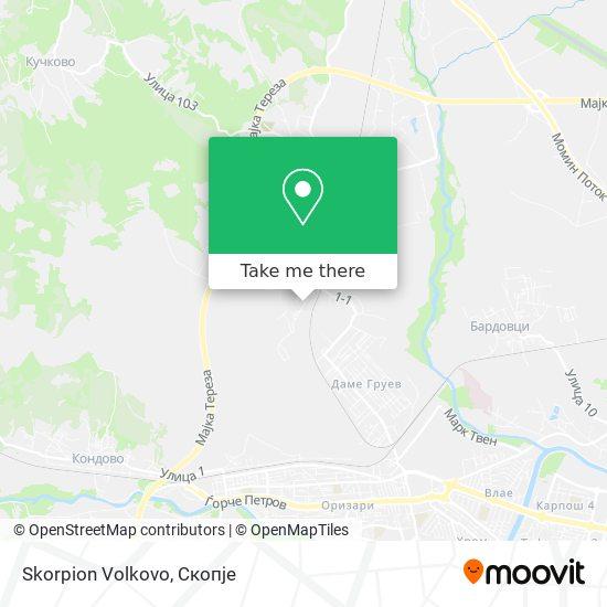 Skorpion Volkovo map