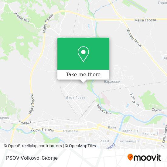 PSOV Volkovo map