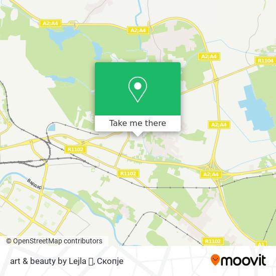 art & beauty by Lejla 👸 map