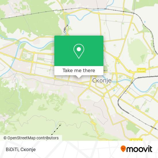 BiDiTi map