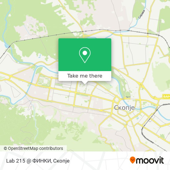 Lab 215 @ ФИНКИ map