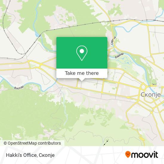 Hakki's Office map
