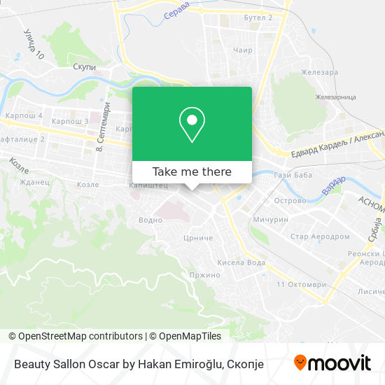 Beauty Sallon Oscar by Hakan Emiroğlu map