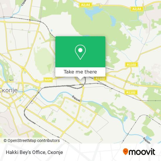 Hakki Bey's Office map