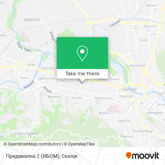 Предавална 2 (ИБОМ) map