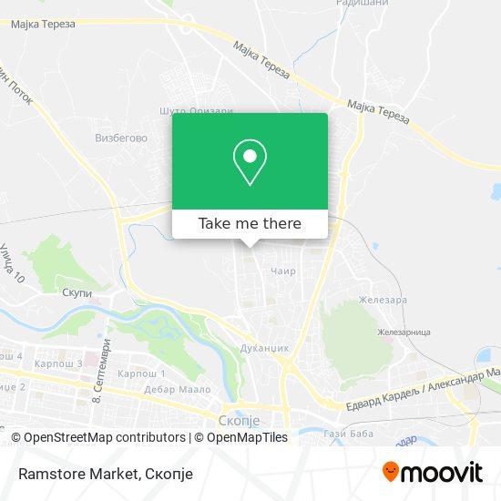 Ramstore Market map