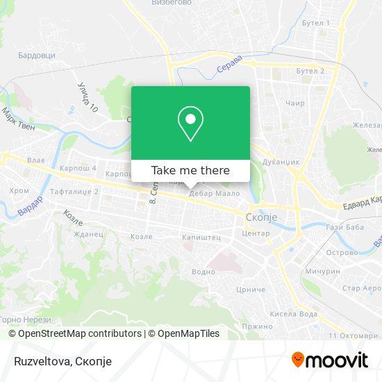 Ruzveltova map