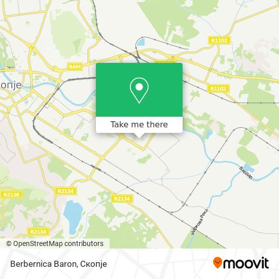 Berbernica Baron map