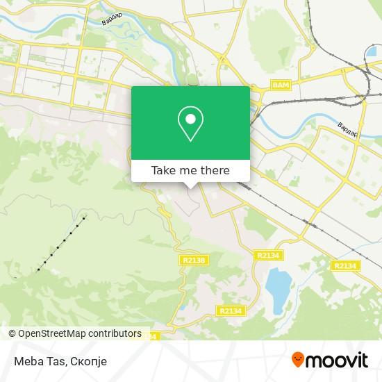 Meba Tas map