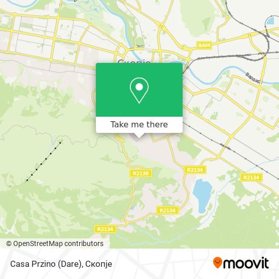 Casa Przino (Dare) map